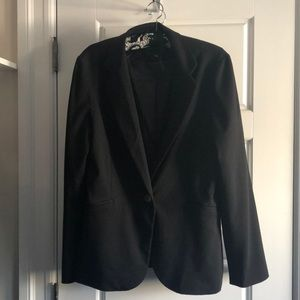 Black blazer. Sz LG Audrey and Celine perfect cond